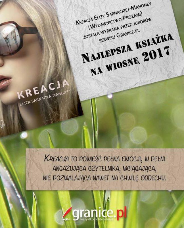 Najlepsza książka na wiosnę 2017!