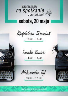 Spotkania z autorkami podczas Warszawskich Targów Książki
