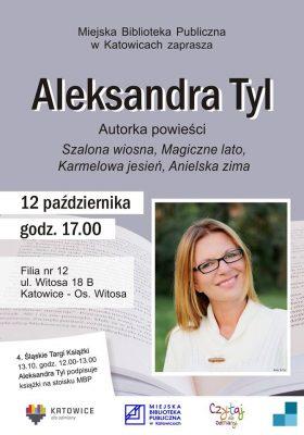 aleksandra tyl - spotkanie autorskie