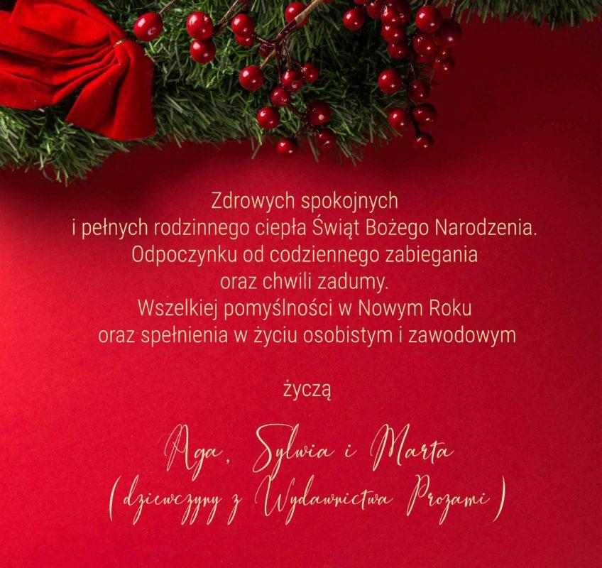 życzenia świąteczne Prozami
