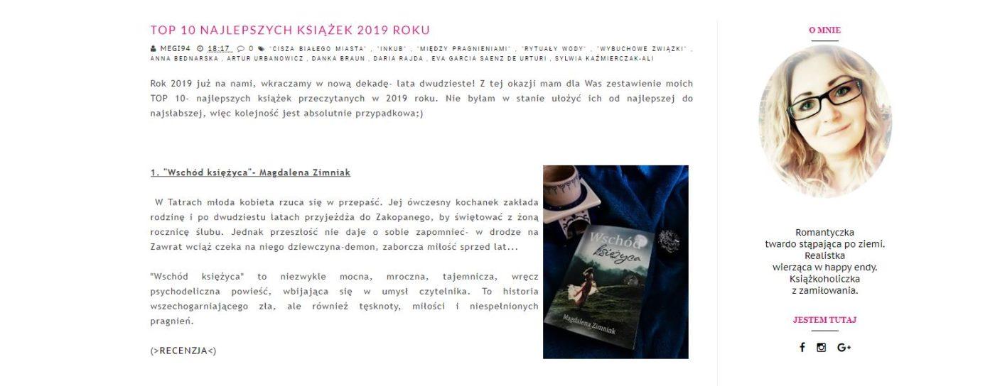 Książkowe podsumowania 2019