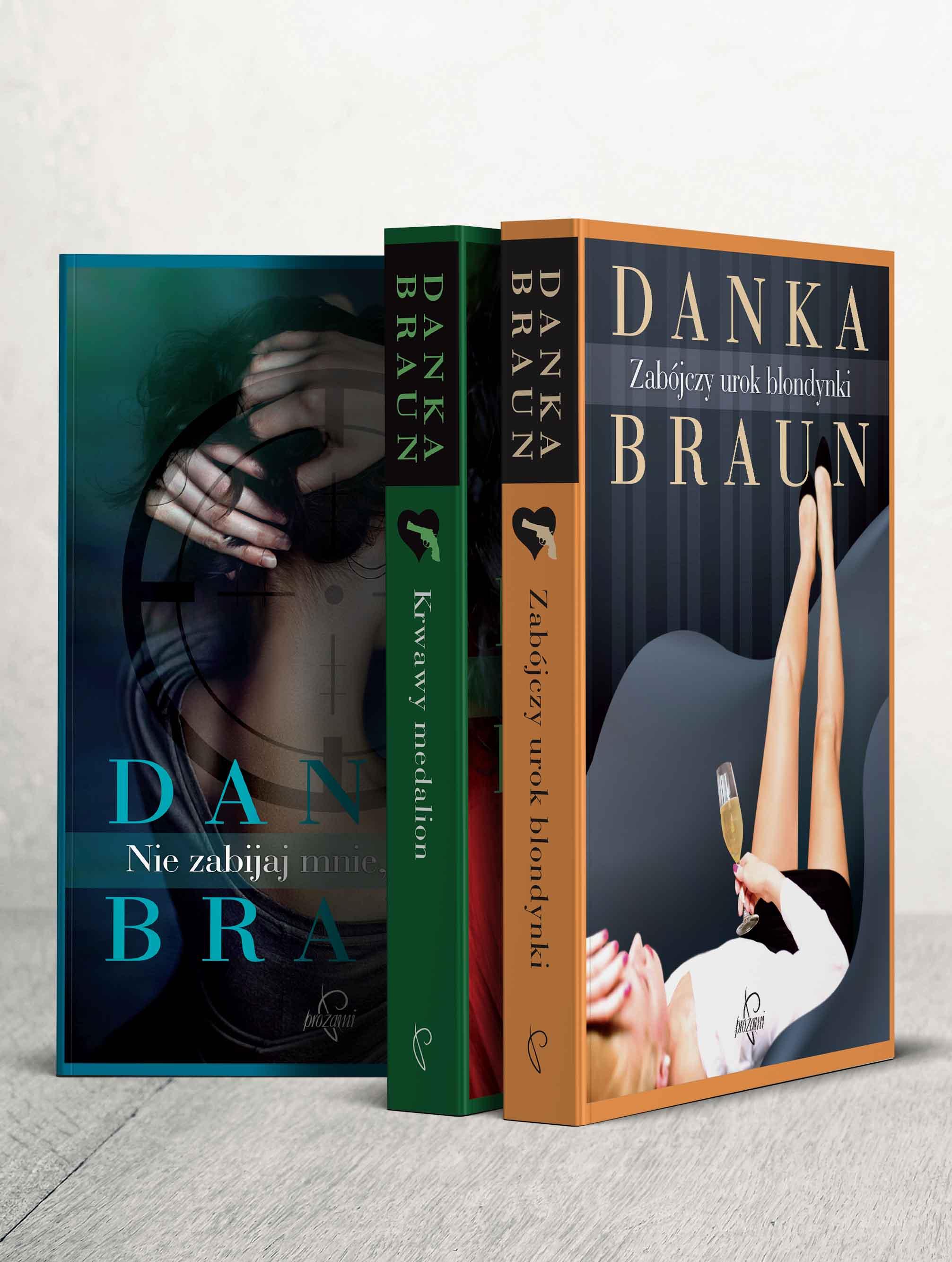 pakiet 3 książek Danki Braun