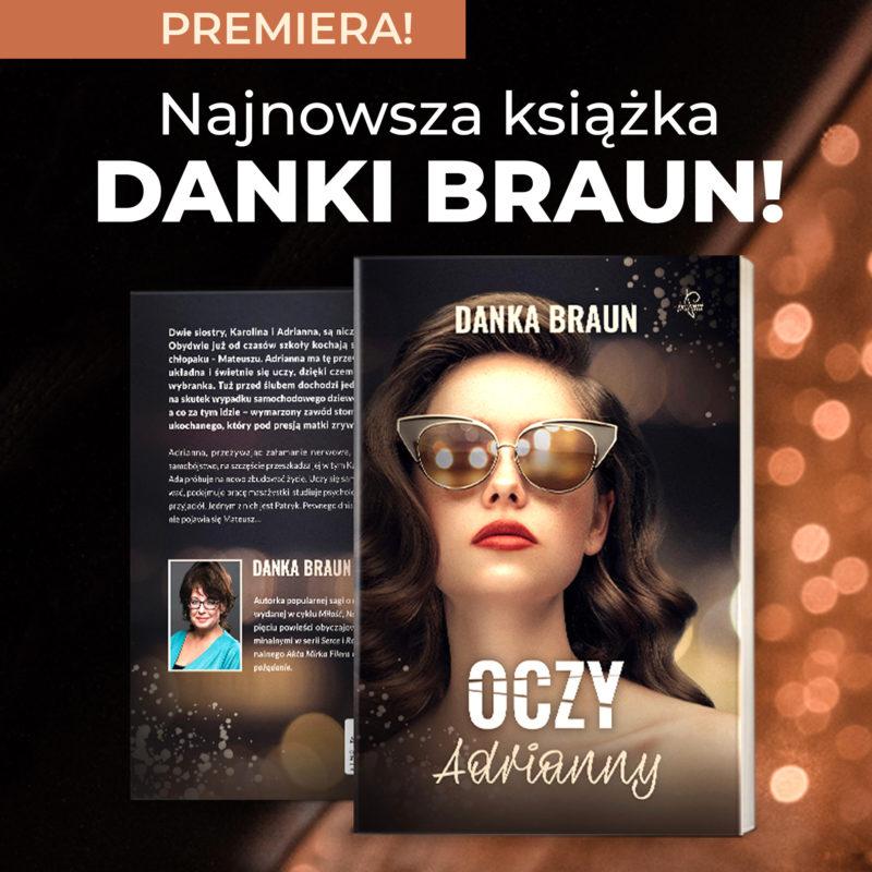 Oczy Adrianny - Danka Braun