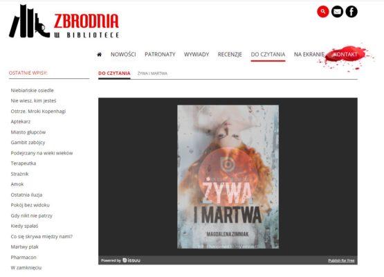 """""""Żywa i martwa"""" - Zimniak"""